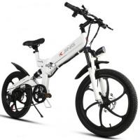 Электровелосипед KJING - белый