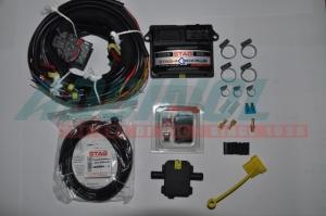 Электроника STAG- 4 Q-BOX Plus, 4 цил, разъем тип Valtek, без ДТР и разъемов, LED 401, шт