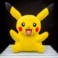 Покемон Пикачу ( Pikachu), плюшевая игрушка 75 см