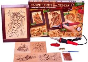 Набор для творчества «Выжигание по дереву» Danko Toys