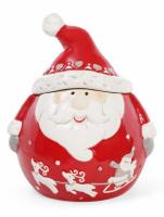 Банка керамическая «Санта» 500мл для сыпучих продуктов