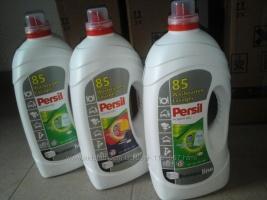 Ariel и Persil жидкий порошок-гель для стирки с Европы 5, 65л.