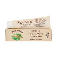 Зубная паста с натуральными травами «ЖЕНЬШЕНЬ» Organic Tai