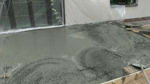 Залить бетонную площадку под авто Киев
