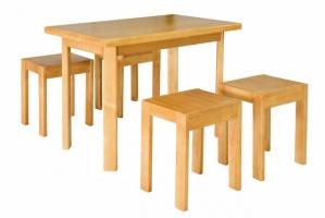 стол и табуреты Олимп