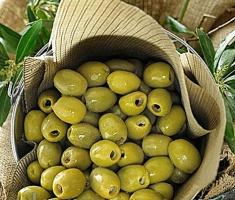 Крупные бочковые оливки «Халкидики» (Halkidiki) без косточки,