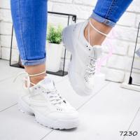 Кроссовки женские Rappi белые