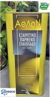 Оливковое масло «Peloponnese ATHLON EXTRA VIRGIN» ж/б 5 л. (первый отжим)