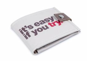 Красивый кошелек «Это легко,если попробуешь»