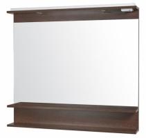 Зеркало «Модерн»100 см с подсветкой и полкой