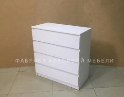 Комод Гелик, цвет Белый