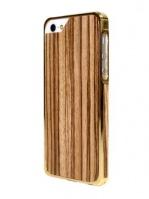 Alloy X Wood для iPhone 5, White Gold