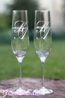 Свадебные бокалы для шампанского Bohemia (Виола)