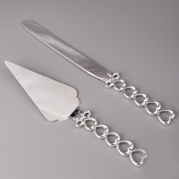 Нож и лопатка Сердечки