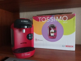 Кофеварка Bosch Tassimo Vivy из Германии!