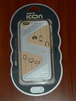 Чехол бампер Icon iPhone 6/6S Zorro silver