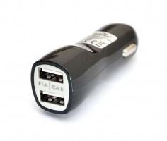 USB адаптер(переходник) от прикуривателя Double
