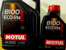 Motul 8100 Eco-lite 0W-20 5л