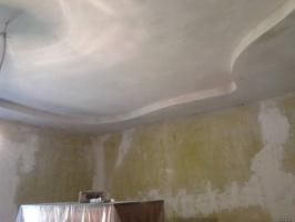 Шпаклёвка ровных бетонных и оштукатуренных стен под обои