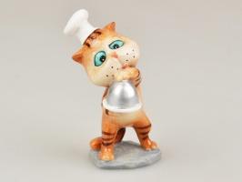 Фігурка декоративна «Кіт - кухар» 10 см