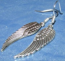 Серьги «Крылья»