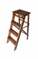 Складной стул стремянка цвет орех