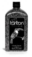 Чай черный Тарлтон Тукан 150 г жб бутылка Виски Tarlton Friendly Toucan
