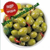 Оливки Green Chalcidikes Super Mammoth зеленая с кост 91-110
