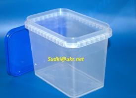 Пластиковая тара для пищевых продуктов, на 1 л
