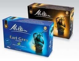 Чай Milton Earl Grey 80 пакетов