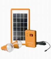 Портативный комплект освещения BSS-00307Е на солнечных батареях