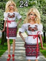 Повседневная одежда для кукол Барби