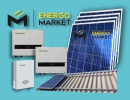 Сетевая солнечная станция 25 кВт