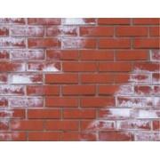 Очистка кирпича, фагота, клинкера, фасадов от высолов, соли Киев