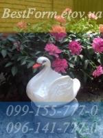 Форма для кашпо «Лебедь средний»