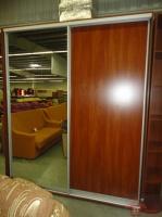 Шкаф-купе с зеркальным и ДСП фасадами-1