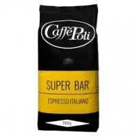 Caffe Poli Superbar 1000г кофе в зернах