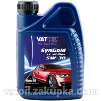 VATOIL 5W-30 SynGold LL-III Plus масло моторное 1л