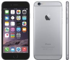 iPhone 6 (1sim), экран 4,7« IPS Sharp, 4 ядра, WiFi, Android 4.2.2, 2ГБ, Металлический корпус - Черный