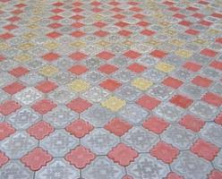 Тротуарная плитка «Лилия»