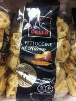 Макароны-гнёзда яичные средние «Gallo Fettuccine» 500г