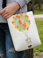 Удобная сумка через плечо «Never give up»