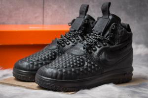 Кроссовки мужские в стиле Nike LF1 Duckboot, черные (14792),  [  42 43 45  ]