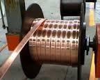 Медная электротехническая шина / полоса М1 ГОСТ 434-78 тверда и мягка: толщ. от 2 до 12мм. (склад)