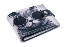 Кошелек унисекс «Крутой кот» . Удобный и компактный