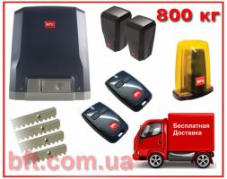 BFT DEIMOS-800. Комплект автоматики для откатных ворот до 800кг.
