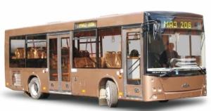Лобовое стекло для автобусов  МАЗ MAZ 206, 203 в Днепропетровске