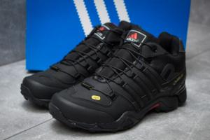 Зимние кроссовки в стиле Adidas 465, черные (30243),  [  42 43 44  ]