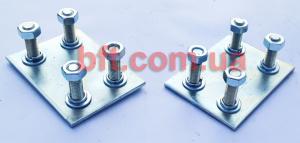 Регулировочные площадки для роликовых кареток PREMIER. 90x50мм.