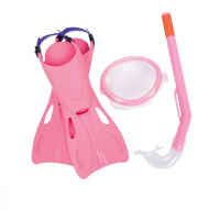 Набор 3 в 1 для плавания Bestway 25018 розовый